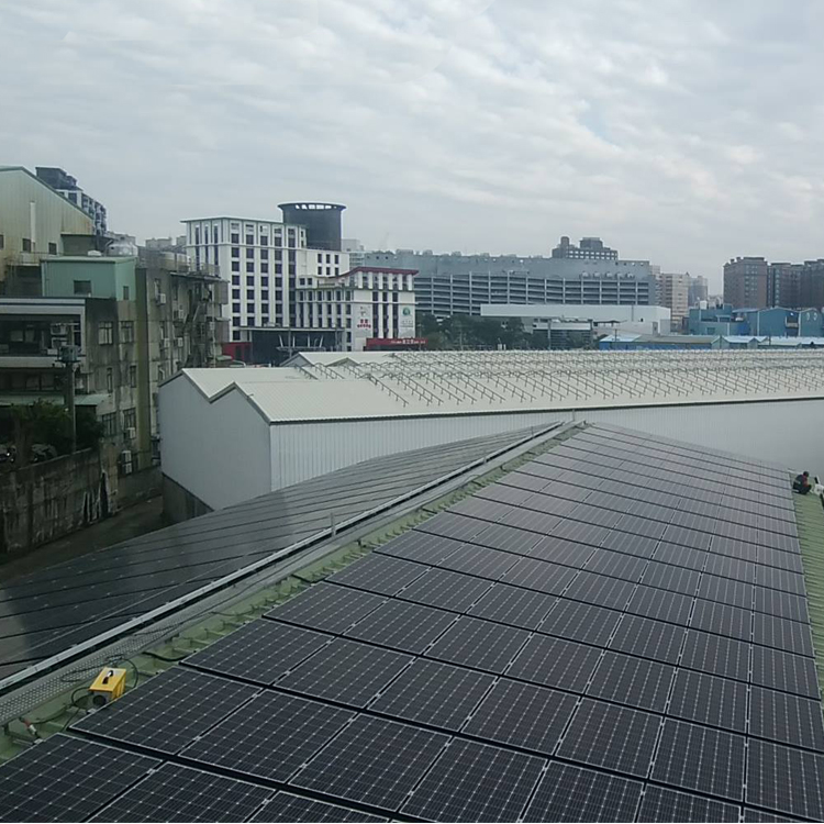 RN-7-SW-1  Railless Roof  Mounting System-Xiamen RiNeng Solar Energy Technology Co.LTD
