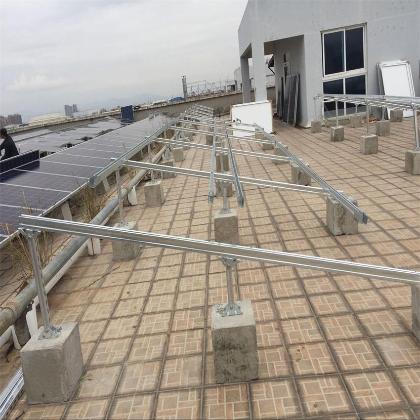 RN-5B Flat Roof Mounting System-Xiamen RiNeng Solar Energy Technology Co.LTD