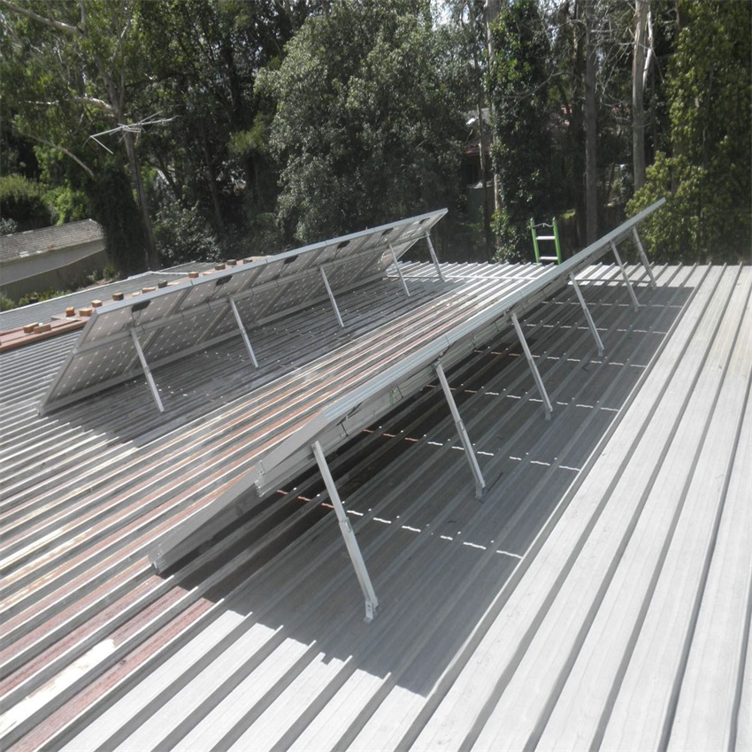 RN-7-SW-4 Adjustable Base Roof  Mounting System-Xiamen RiNeng Solar Energy Technology Co.LTD