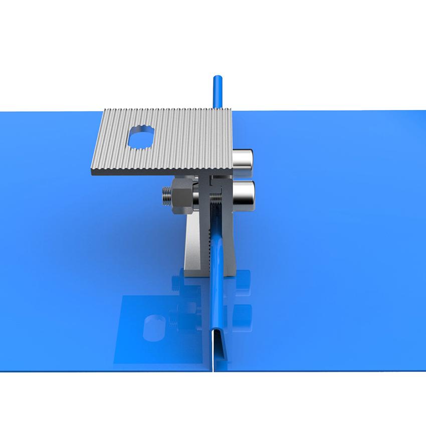 RN-7-SW-5  Standing Seam Roof  Mounting System-Xiamen RiNeng Solar Energy Technology Co.LTD