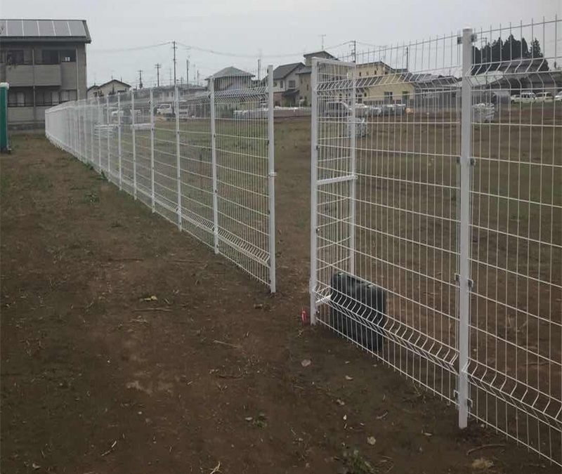 steel fence for solar